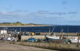 Seahouses Bamburgh View