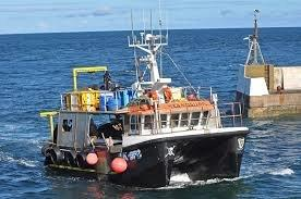 Seahouses Fishing Boat